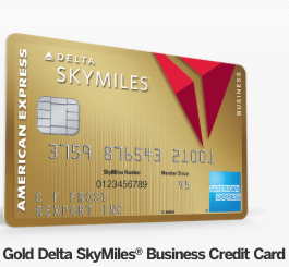 Gold Delta Skymiles Business Card 300 Ticket Discount And 50