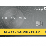 Quicksilver Rewards Credit Card Capital One