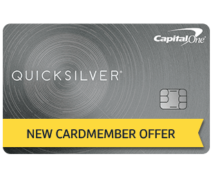 Quicksilver from Capital One: $144 Bonus and 14.14% Cash Back