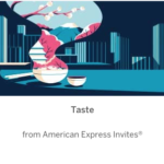 Taste from American Express Invites