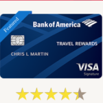 Bank of America Travel Rewards Credit Card: $250 Travel Statement Credit