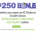 IC Federal Credit Union: Get $250 with Intelligent Checking Account – MA