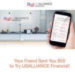 USAlliance Financial Referral Bonus Program
