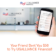 USAlliance Financial Referral Bonus Program