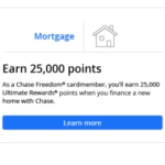 Chase Freedom Members: Get $250 Cash Back to Finance New Home