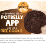 Potbelly Sandwich Shop: Get a Free Cookie with Your First Order