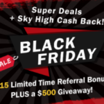 RebatesMe $15 Black Friday Bonus