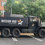 Mission BBQ Restaurant Military Truck