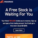 Moomoo Free Trading App Stock Giveaway