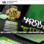 LA Blockchain Summit Free Tickets $100 Bitcoin