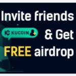 KuCoin Free Airdrop Referral Bonus