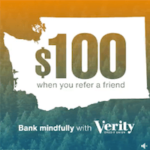Verity Credit Union Referral Bonus