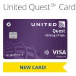 United Quest Card Bonus Miles