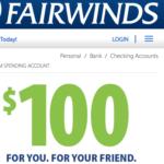 Fairwinds Credit Union Referral Bonuses