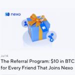Nexo Crypto Wallet Referral Bonus