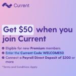 Current Premium Account $50 Welcome Bonus
